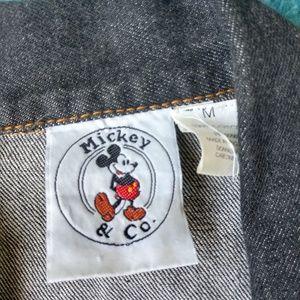 Disney Jackets & Coats - VINTAGE Mickey & Co Denim Vest